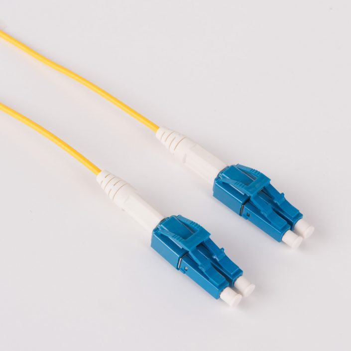 OS2 Single Mode LC-LC Uniboot copper patch cable