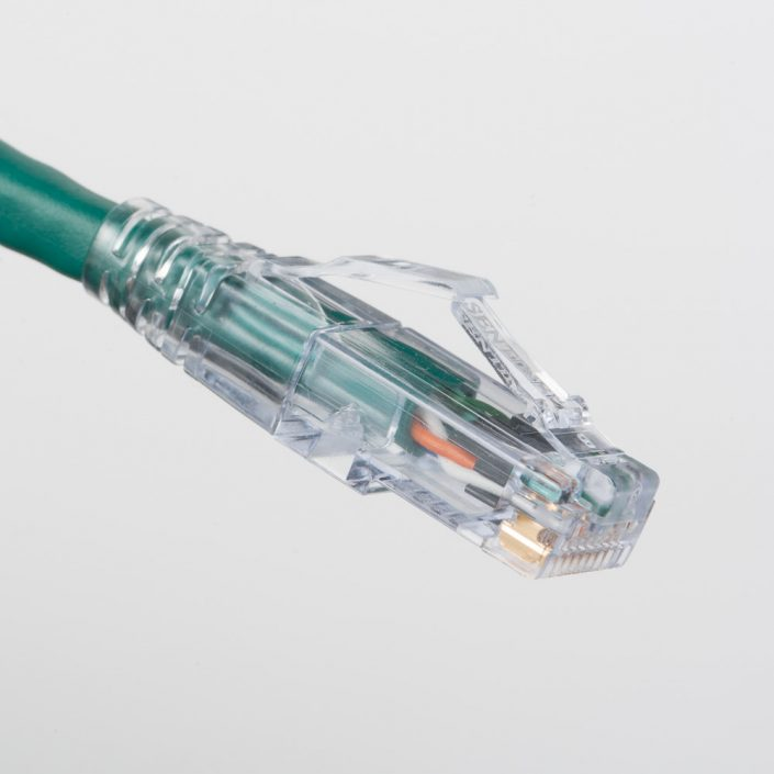 Cat6A Green Patch Cord