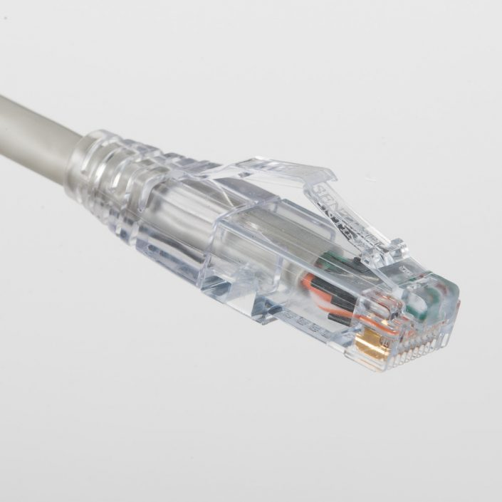 Cat6A Gray Patch Cord