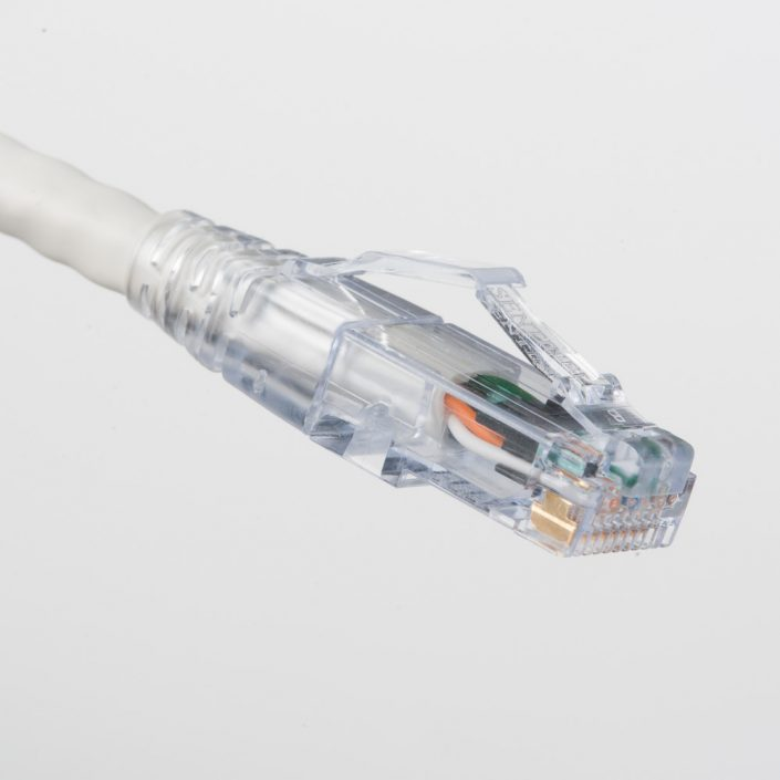 Cat6A White Patch Cord